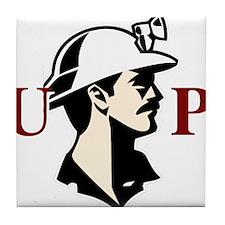 U.P. Miner Tile Coaster