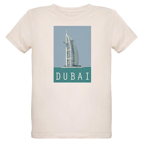 Dubai Burj Al Arab Organic Kids T-Shirt
