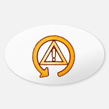 Sticker (Oval) DCS Off