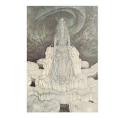 Dulac's Snow Queen Postcards (Package of 8)