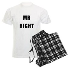 "For Him : ""MR RIGHT"" Pajamas"