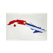 """Pixel Cuba"" Rectangle Magnet"