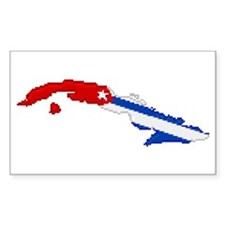 """""""Pixel Cuba"""" Rectangle Decal"""