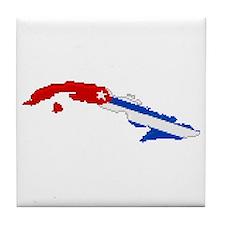 """""""Pixel Cuba"""" Tile Coaster"""