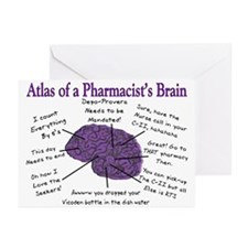 Atlas Of... Greeting Cards (Pk of 20)