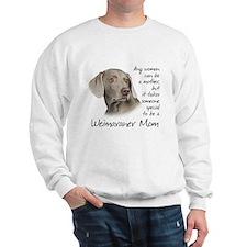 Weimaraner Mom Sweatshirt
