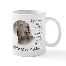 Weimaraner Mom Small Mugs