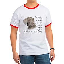 Weimaraner Mom T