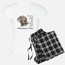Weimaraner Mom pajamas
