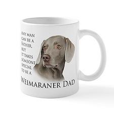 Weimaraner Dad Small Mugs