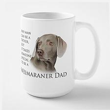 Weimaraner Dad Large Mug