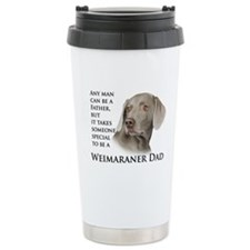 Weimaraner Dad Travel Mug