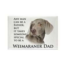 Weimaraner Dad Rectangle Magnet