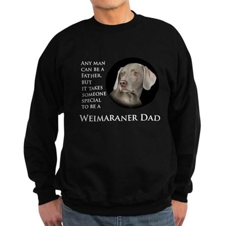 Weimaraner Dad Sweatshirt (dark)
