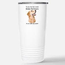 Golden Retriever Thermos Mug