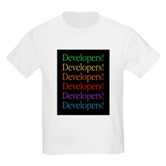 Developers (black) Kids T-Shirt