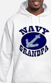 Navy Grandpa Hoodie