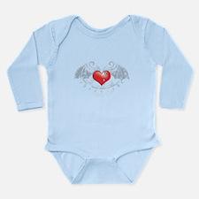 Eternal love (2) Long Sleeve Infant Bodysuit