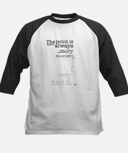 There's always a story Kids Baseball Jersey