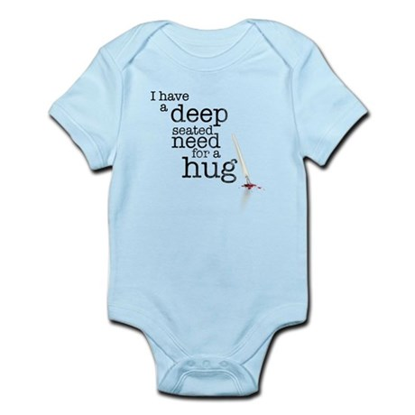 Need for a hug Infant Bodysuit