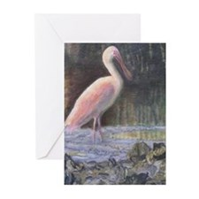 CREEKSIDE SPOONBILL Greeting Cards (Pk of 10)