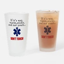 Don't Touch Drinking Glass