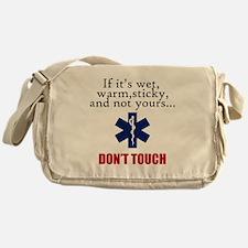 Don't Touch Messenger Bag