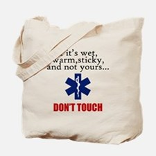 Don't Touch Tote Bag