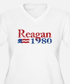 Reagan 1980 - Distressed T-Shirt