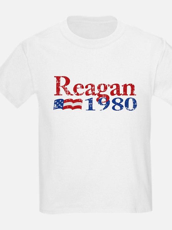 Reagan 1980 - Distressed T-Shirt