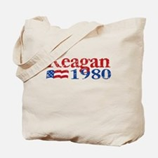 Reagan 1980 - Distressed Tote Bag