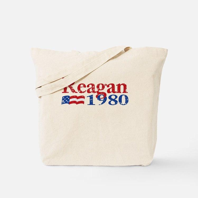 Reagan 1980 - Distressed Tote Bag