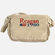 Reagan 1980 - Distressed Messenger Bag
