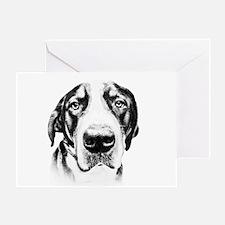 SWISS MOUNTAIN DOG - Greeting Card
