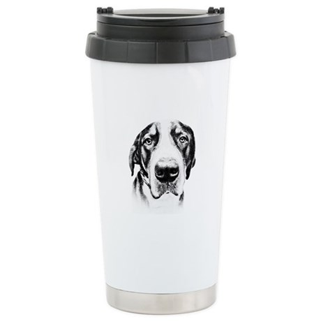 SWISS MOUNTAIN DOG - Stainless Steel Travel Mug