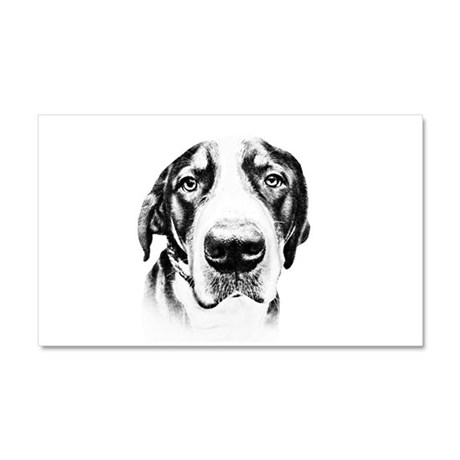 SWISS MOUNTAIN DOG - Car Magnet 20 x 12