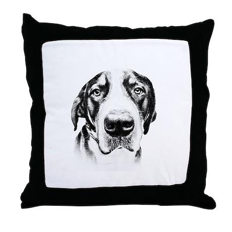 SWISS MOUNTAIN DOG - Throw Pillow