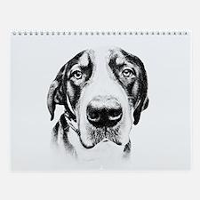 SWISS MOUNTAIN DOG - Wall Calendar