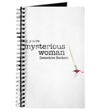 Mysterious woman Journal