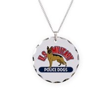 Military Police Dogs Necklace