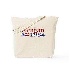 Reagan 1984 -Distressed Logo Tote Bag