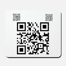 Twilight Fan QR Code by Twiba Mousepad
