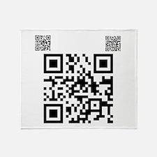 Twilight Fan QR Code by Twiba Throw Blanket