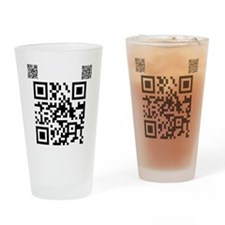Twilight Fan QR Code by Twiba Drinking Glass