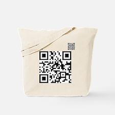 Twilight Fan QR Code by Twiba Tote Bag