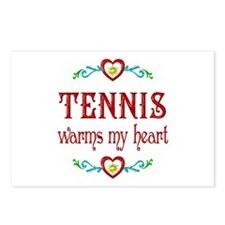 Tennis Warms My Heart Postcards (Package of 8)