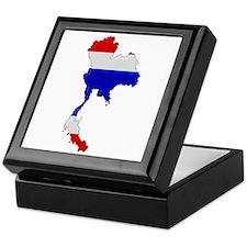 """""""Pixel Thailand"""" Keepsake Box"""