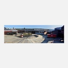 Steamtown Roundhouse Train 42x14 Wall Peel