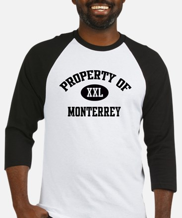 Property of Monterrey Baseball Jersey