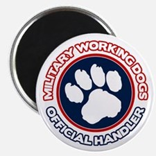 Military Working Dogs Magnet